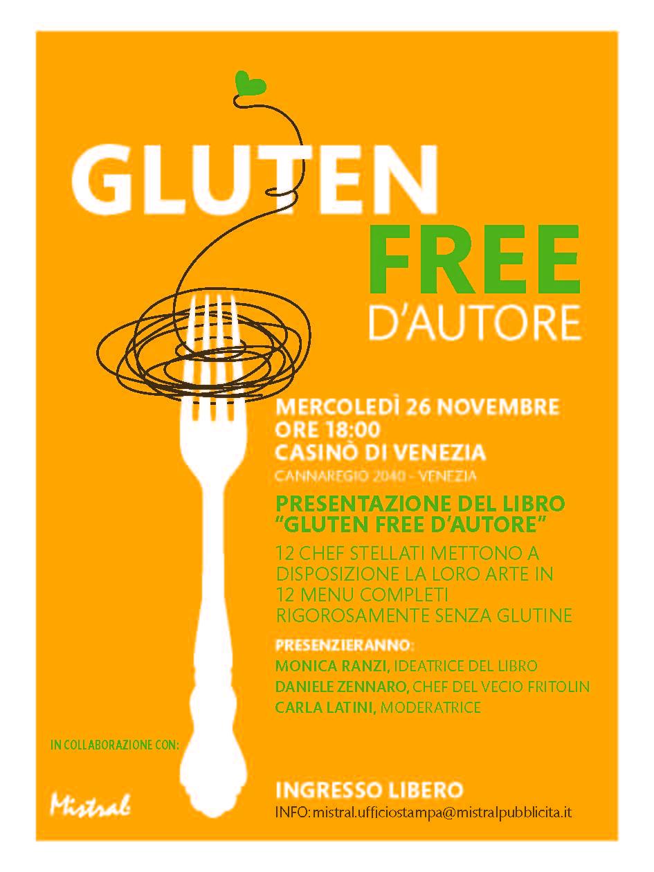 Invito_Gluten free d autore_Venezia