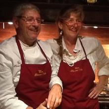 In cucina a Cortina