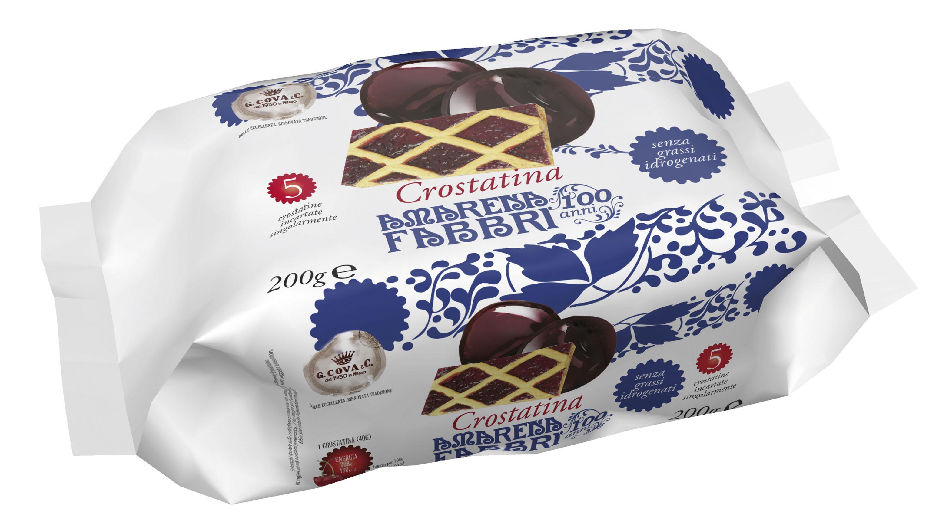 confezione crostatine all'amarena Fabbri