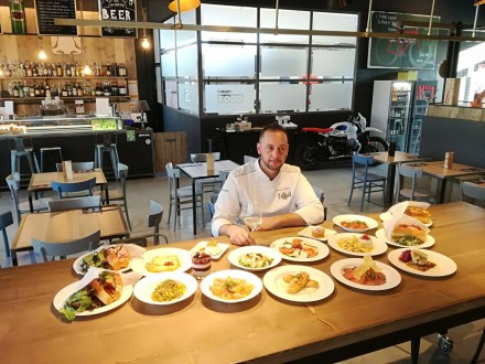 Francesco Babini e i suoi piatti