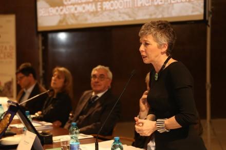 La Presidente Emerita della Camera Irene Pivetti