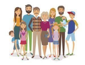 I figli nelle famiglie a geometria variabile