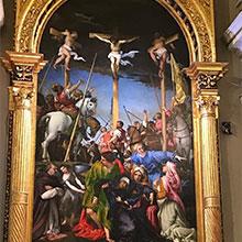 La Crocifissione di Lorenzo Lotto
