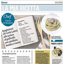 Sul Corriere Adriatico con Sigismondo Gaetani
